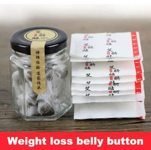 2 Box Navel Paste Bauch Patches Abnehmen Gewichtsverlust Aufkleber für Frauen Männer Bier Bauch, Eimer Taille, Taille Bauchfett