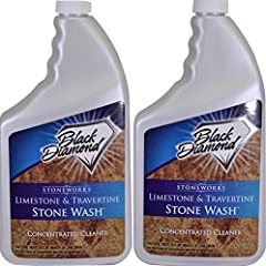 Black Diamond's Stone Wash is formulated specifically to clean limestone, travertine, marble, slate and porous natural stone surfaces. Works great on polished concrete. Stone Wash is pH neutral, biodegradable and will not only safely clean an...