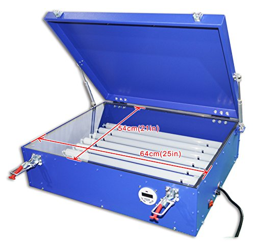 110v Screen Printing Uv Exposure Unit Plate Burning with Cover & 8 Tubes Area (Tube Unit)