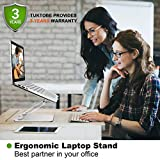 TUKTOBE Laptop Stand, Ergonomic Height Angle