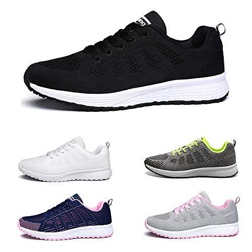 Homme Basket De Sneakers Respirantes Fitness Running Courtes Athlétique Tennis Chaussures lha081 Femme Sport Black qwUnEdxt4