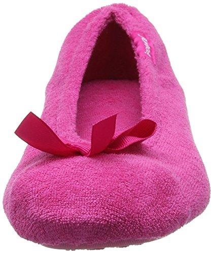 Isotoner 98968AQUSAMA, Zapatillas de estar por casa Mujer Rosa (Hot Pink)