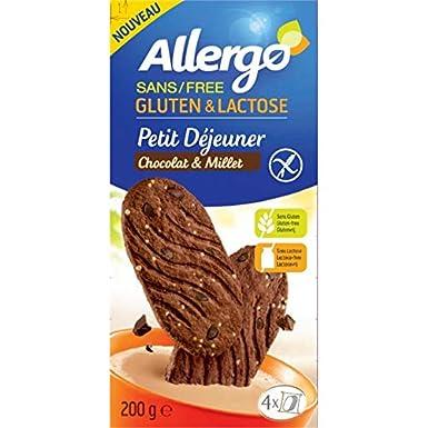 Allergo - Sala De Desayuno Mijo Chocolate Gluten 200G - Lot ...