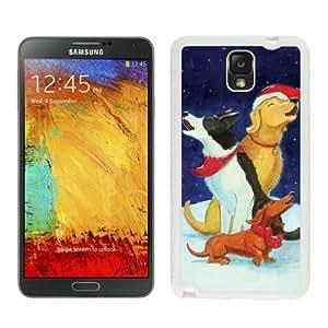 Individualization Christmas Dog White Samsung Galaxy Note 3 Case 42 wangjiang maoyi