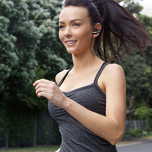 Want Jarv Mach 1 Wireless Earbuds - Sweatproof and Water Resistant, Over the Ear Sport Design - Bluetooth Headphones lowestprice