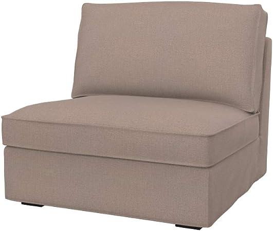 Soferia Housse Supplementaire Ikea Kivik Chauffeuse 1 Place Tissu Softi Bronze Amazon Fr Cuisine Maison