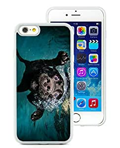 Beautiful And Durable Designed Case For iPhone 6 4.7 Inch TPU With underwater dogs White Phone Case