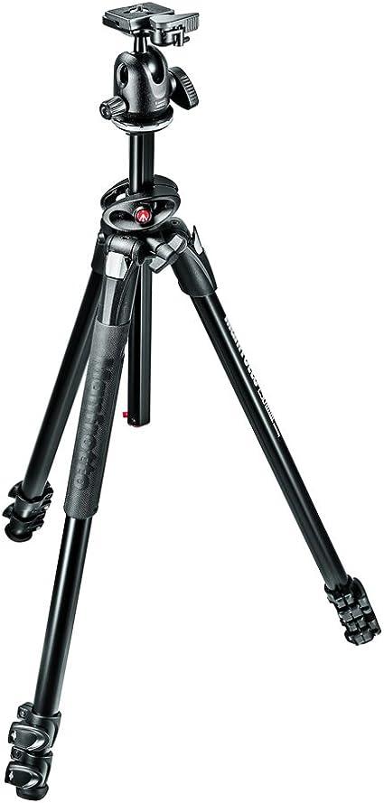 Manfrotto Mk290dua3 Bh 290 Dual Kit Alu 3 Segmente Kamera