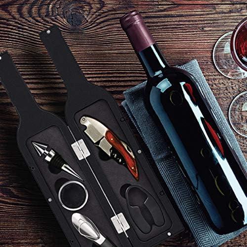 AODOOR Vertedor de vino para botellas de vino antigoteo reutilizable juego pr/áctico para servir vino limpio y elegante sin gotas