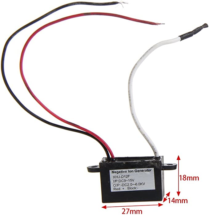 Bilinli DC 12V Purificador de Aire Ionizador Generador de aniones de Iones Negativos Purificador Limpiador Coche: Amazon.es: Hogar