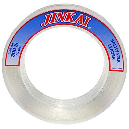 Jinkai Premium Monofilament Leader Dispensers #20 – #300 Crystal Clear (#20 (100yds)) For Sale