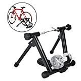 OrangeA Fluid Trainer with Resistance Shifter Portable Road Machine Indoor Bicycle Trainer for Inddor Exercise Road Machine Smart Trainer (Black Fluid Trainer) For Sale
