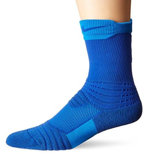 Nike Youths Elite Versatility Basketball Crew Socks Azul Small 3Y-5Y (Nike Youth Elite Basketball Socks)