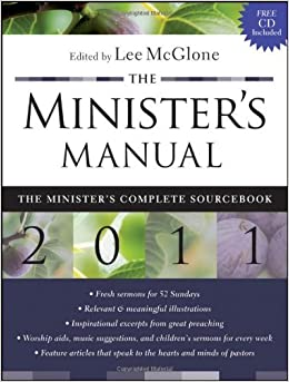 Book The Minister's Manual by (2010-08-09)
