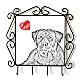 Rottweiler, Clothes Hanger with an Image of a Dog and Heart