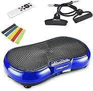 Wonder Maxi 3D Vibration Platform Exercise Machine, Dual Motor Oscillation Whole Body Vibration Fitness Plate