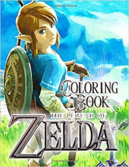 The Legend Of Zelda Coloring Book 50 Great Coloring Pages For Kids And Teens Books Lulu 9781708583194 Amazon Com Books