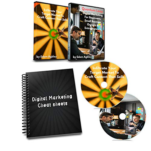 Online Marketing Tools Digital Marketing Training: Kit Includes Video Lessons, Audio CD, & Cheat Sheets. Strategic Selling Gain Clients & Learn Proven Effective Marketing For Entrepreneurs