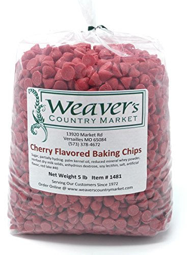 Cherry Flavored Baking Chips (5 Lbs.)