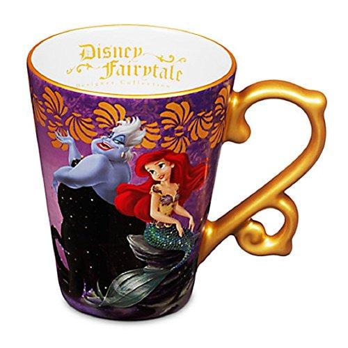 Ariel and Ursula Fairytale Mug Disney Store Designer Collection Little Mermaid