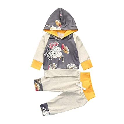 4583ba3d605b Amazon.com  Newborn Infant Toddler Baby Girl Boy Christmas Outfit ...