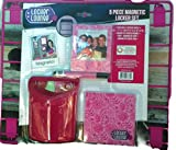 Magnetic Locker Set 5 Pc (Pink) by Locker Lounge