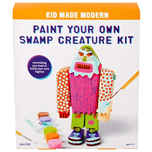 Kid Made Modern Paint Your Own Swamp Creature - DIY Toy Set for Kids | ()