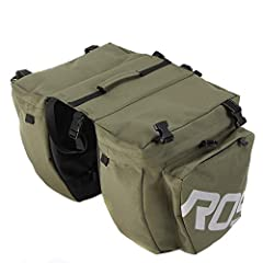 1Special design into 3 in 1 functional mountain bike bag, large volume for maximum storage and good material makes it durable and wear resistant. Suitable for long-distant riding.     Features:   Stylish and design, exquisite appearance.   Water resi...