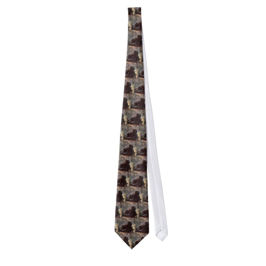 Zazzle Vintage Transportation, Mountain Train Travel Tie