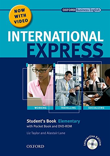 (International Express: Elementary: Student's Pack: (Student's Book, Pocket Book & DVD))