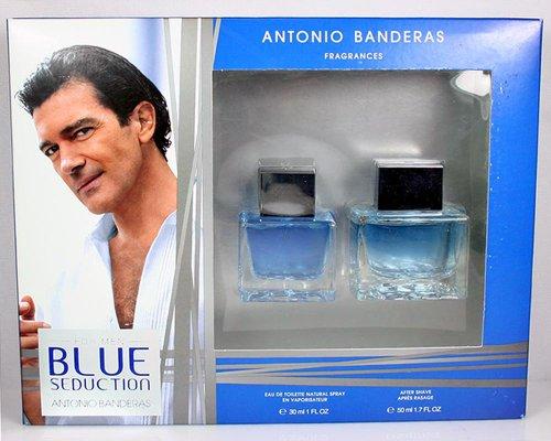 BLUE SEDUCTION For Men Gift Set By ANTONIO BANDERAS
