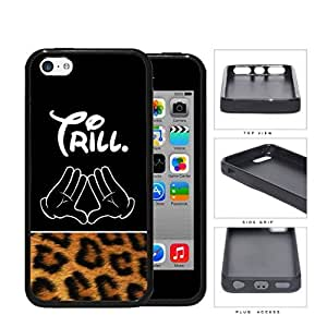 Trill With Cartoon Hands Rubber Silicone TPU Cell Phone Case Apple iPhone 5c