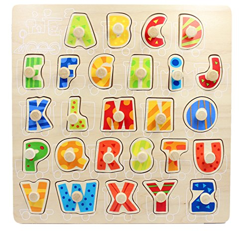 Wooden Alphabet Puzzle (Uppercase) - 4