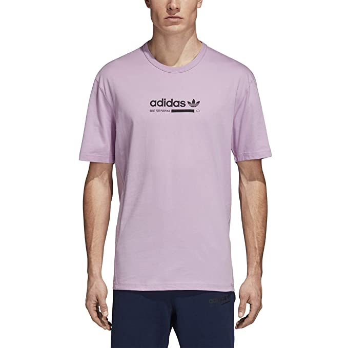 social terminado declaración  Buy adidas Men's Adidas Originals Kaval T-Shirt l D(M) US Clear Lilac at  Amazon.in