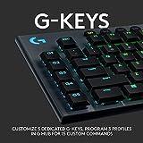 Logitech G915 Wireless Mechanical Gaming Keyboard