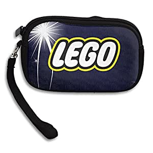 LEGO Logo Personality Wallet Clutch Bag With Zipper Closure