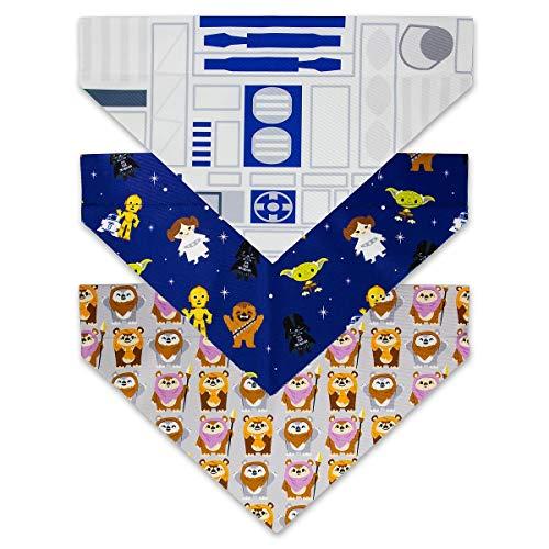 Disney Bandana - Disney Tails Star Wars Dog Bandana Set of 3 Light Side Size Large