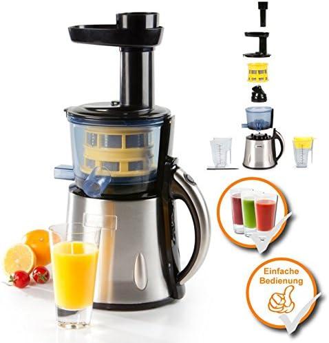 Slow juicer – Exprimidor de fruta, Lento Extrusión Sistema para un ...