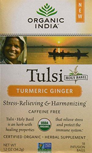 ORGANIC INDIA Tulsi Turmeric Ginger product image