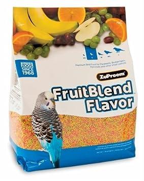 Zupreem Multifrutas Periquitos - 4'5 Kg Sumilsa