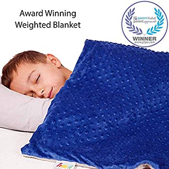 Weighted Blaket Cover, 36x48 JHMENG Weighted Blanket for Kids /& Adults Heavy Blanket Cotton//Minky with Glass Beads
