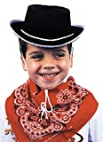 Costumes For All Occasions GC113 Cowboy Hat Child Black