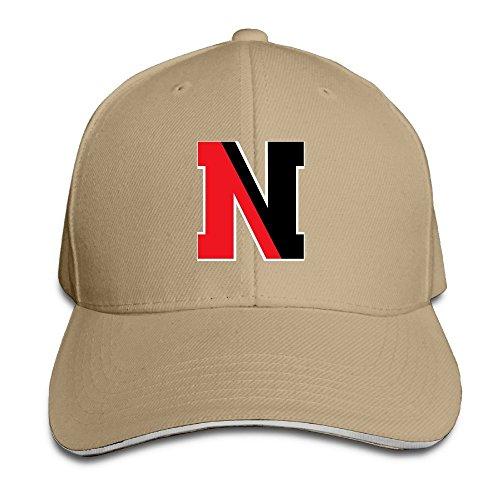 MayDay Northeastern N Logo University Baseball Sandwich Hat Natural