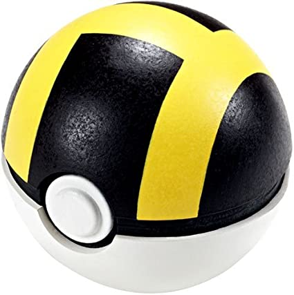 Pokemon Soft Foam 2.5 Inch Pokeball Toy Ultra Ball [Toy]: Amazon ...
