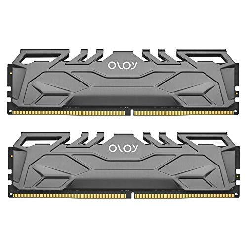 OLOy DDR4 RAM 32GB (2x16GB) 3000 MHz CL16 1.35V 288-Pin Desktop Gaming UDIMM (MD4U1630160BHIDA)
