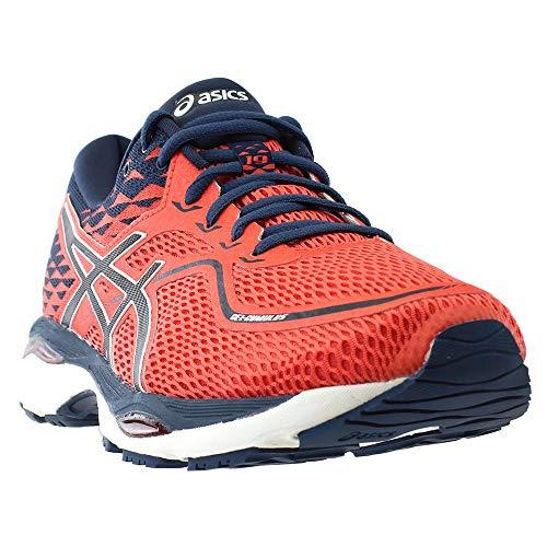 separation shoes c1ca3 55faa ASICS Mens Gel-Cumulus 19 Running Shoe, Coralicious Dark Blue Dark Blue,  10.5 M US