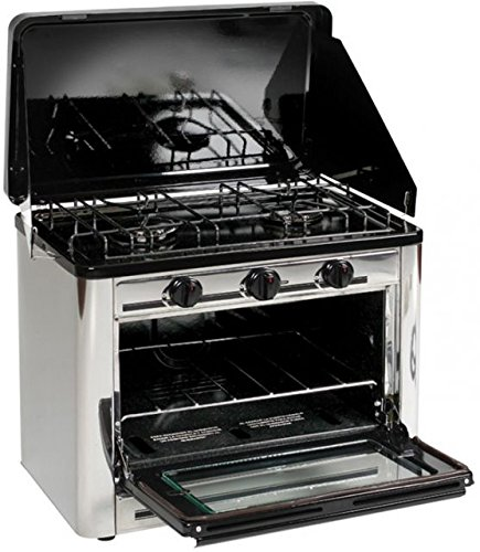 (Stansport Stainless Steel Outdoor Stove and Oven)