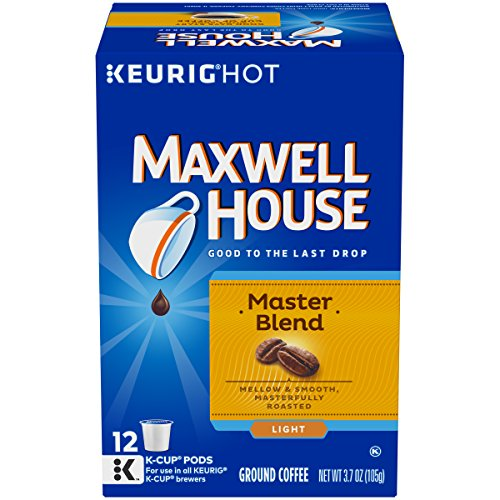Maxwell House Master Blend Coffee Lite Roast K-Cup Pods (12 ()
