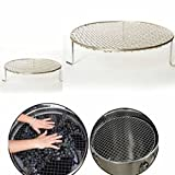 Size L 304 Stainless Steel Grape Broken Net Home Brew Wine Infarction Crushing Net Tools by STCorps7