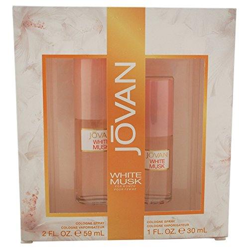 Jovan White Musk Perfume Set for Women